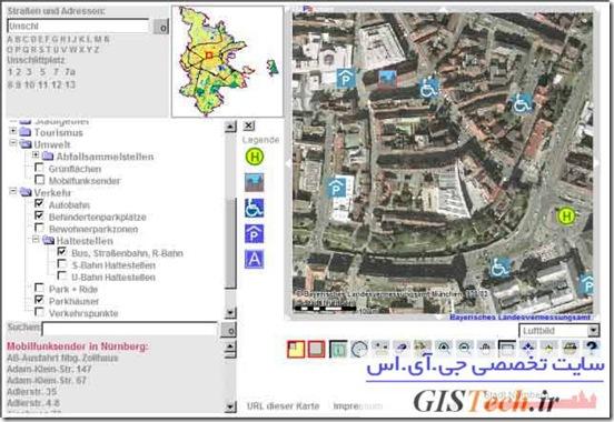 معرفی Mapbender در حوزه وب جی.آی.اس Web GIS