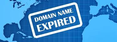 دامنه شما منقضی شده است Expired Domain Name Alarm Alert اخطار توجه دقت کنید