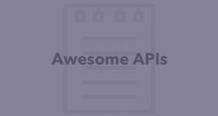 Public APIs : مجموعه ای از API های معروف و کاربردی