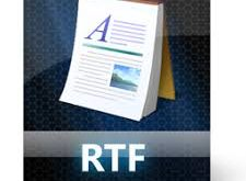 RTF Document