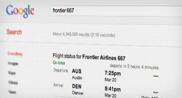 عکس صفحه زمانهای پرواز خاص برای عبارت جستجوی