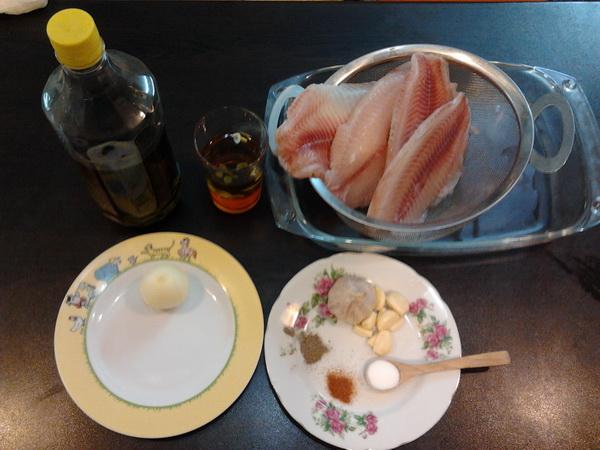 یک روش ساده پختن ماهی تیلاپیا