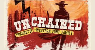 Unchained : دانلود رایگان فونت زیبا با استایلهای مختلف