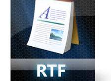 RTF Document