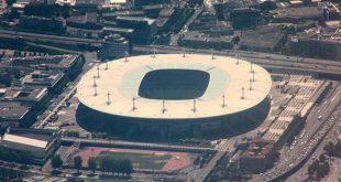 استادیوم استادو فرانس در فینال جام جهانی ۱۹۹۸ با نتیجه ۳ - ۰ فرابسه برزیل را شکست داد